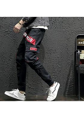 Quần Jogger Jean Nam túi hộp cá tính năng động chất vải Jean cao cấp co giãn nhẹ hợp với xu hướng thời trang hiện nay