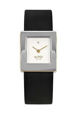 Đồng hồ Alfex 5734/2058 Nữ Dây Da Măt Vuông 27×24.5mm
