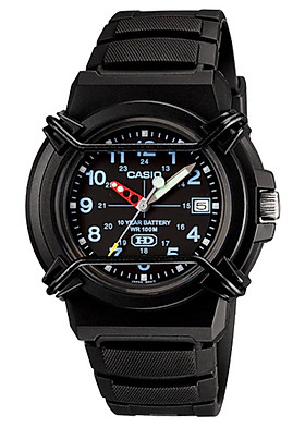 Đồng hồ nam dây nhựa Casio HDA-600B-1BVDF