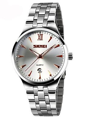 Đồng hồ nam dây hợp kim chống gỉ Skmei 9071