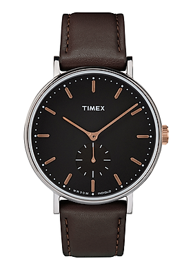 Đồng hồ Nam dây da Timex Fairfield Sub-Second 41mm TW2R38100