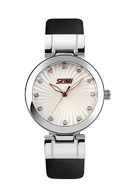 Đồng hồ nữ dây da Skmei 9086