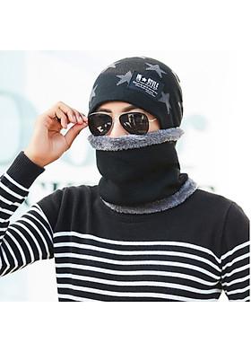 Hình ảnh Mũ len và khăn choàng cỗ cho Nam - NL23A
