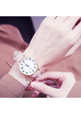 Đồng hồ dây da thời trang ravani đẹp DH38