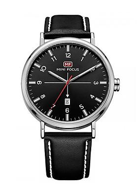 Đồng hồ nam Mini Focus dây da cao cấp thiết kế đơn giản có lịch ngày JS-MF019