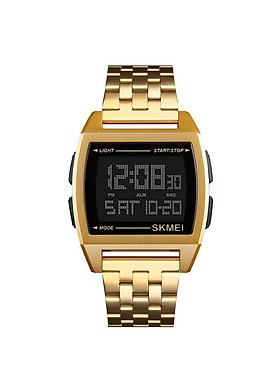Đồng hồ điện tử SKMEI dây kim loại khối SK-15346