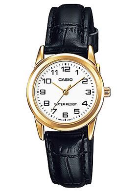 Đồng hồ nữ dây da Casio LTP-V001GL-7BUDF