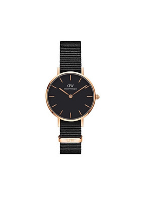 Đồng hồ nữ DANIEL WELLINGTON PETITE CORNWALL ROSE BLACK 28MM DW00100247