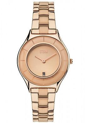 Đồng hồ đeo tay hiệu STORM SLIMRIM ROSE GOLD