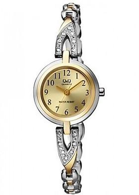 Đồng hồ nữ Q&Q Citizen  F589J403Y dây sắt