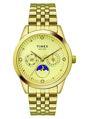 Đồng Hồ Nữ Timex Dây Kim Loại TWEL13104