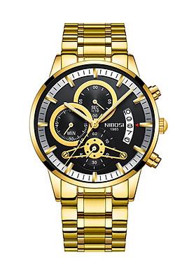 Đồng hồ Nibosi dây thép đặc 2309N