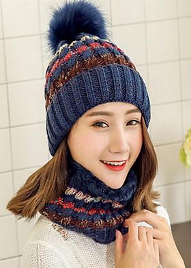 Hình ảnh Mũ len và khăn choàng cổ VN02
