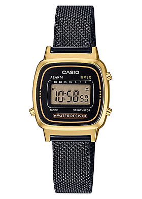 Đồng Hồ Casio Nữ Dây Thép LA670WEMB-1DF