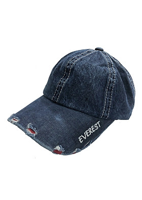 Nón kết jean nón lưỡi trai nam vải jean cao cấp thời trang Everest
