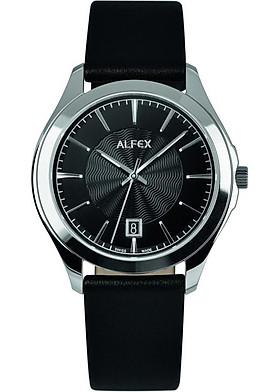 Đồng Hồ Nữ Dây Da Kính Sapphire Alfex 5720/667 (36mm)