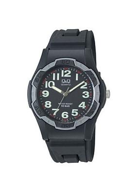 Đồng hồ nam thể thao Q&Q VP94J005Y  kim dạ quang dây nhựa thương hiệu Nhật Bản