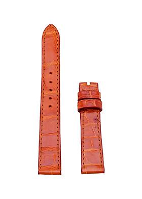 Dây Đồng Hồ Da Cá Sấu Size Nhỏ Huy Hoàng HT8228 - Vàng