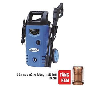 Hình đại diện sản phẩm Máy Xịt Rửa Cao Áp Có Bánh Xe Kachi VAB + Tặng Đèn Sạc Năng Lượng Mặt Trời