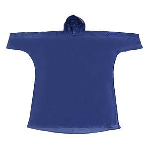 Hình đại diện sản phẩm Áo Mưa Trùm Poncho Vải Polyester #120-1 (Free Size) - Xanh Navy