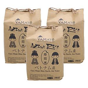 Hình đại diện sản phẩm Combo 3 Bịch Gạo Nhật Akira Rice (2Kg / Bịch)