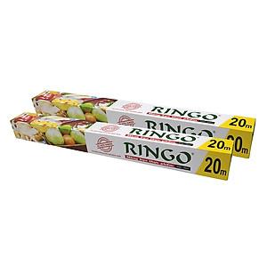 Hình đại diện sản phẩm Bộ 2 Màng Bọc Thực Phẩm PVC Ringo CF045 (45cm x 20m)