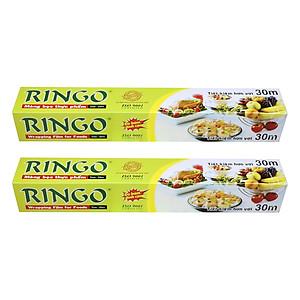 Hình đại diện sản phẩm Bộ 2 Màng Bọc Thực Phẩm PVC Ringo CF030 (30cm x 30m)