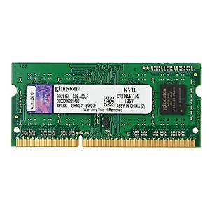 Hình đại diện sản phẩm RAM Laptop Kingston 8GB DDR3L-1600 SODIMM 1.35V - KVR16LS11/8