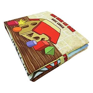 Hình đại diện sản phẩm Sách Vải Trẻ Em Pipovietnam Hình Khối