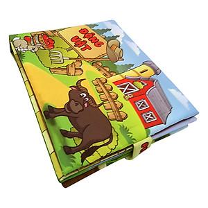 Hình đại diện sản phẩm Sách Vải Trẻ Em Pipovietnam Động Vật