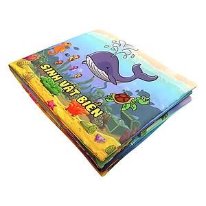 Hình đại diện sản phẩm Sách Vải Pipovietnam Sinh Vật Biển