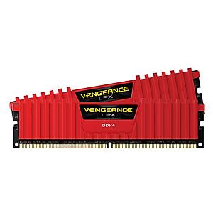 Hình đại diện sản phẩm RAM Corsair Vengeance LPX (2 x 8GB) 16GB DDR4 2666 C16 RED - CMK16GX4M2A2666C16R