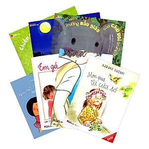 Hình đại diện sản phẩm Combo Ehon Nhật Bản Tủ Sách Người Mẹ Tốt: Dành Cho Trẻ Từ 3 - 8 Tuổi - Tặng Kèm Sách Người Mỹ Giúp Con Ham Đọc Sách