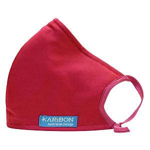 Khẩu Trang Karibon Cotton Size L (Đỏ)