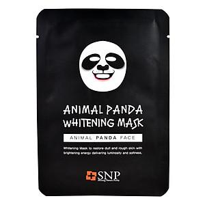 Hình đại diện sản phẩm Mặt Nạ Hình Gấu Panda Dưỡng Trắng Da SNP Animal Panda Whitening Mask - SNP028 (25ml)