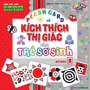 Flashcard Dạy Trẻ Theo Phương Pháp Glenn Doman - Kích Thích Thị Giác Cho Trẻ Sơ Sinh 2 - Đỏ Đen