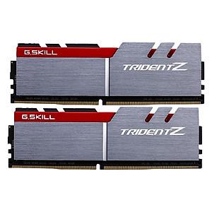 Hình đại diện sản phẩm Bộ 2 Thanh RAM PC G.Skill F4-3200C16D-16GTZB Trident Z 8GB DDR4 3200MHz UDIMM XMP - Hàng Chính Hãng