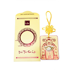 Hình đại diện sản phẩm Bao Lì Xì Vàng 24K Nén vàng Thần Tài Ancarat