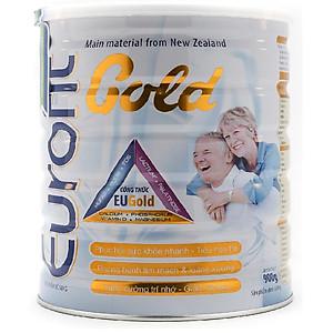 Hình đại diện sản phẩm Sữa Eurofit Gold 900g (Dành cho người trưởng thành,người trung và cao tuổi, người có nguy cơ loãng xương, thiếu canxi, người ốm cần phục hồi sức khỏe)