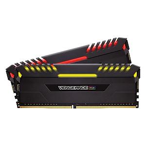Hình đại diện sản phẩm Bộ 2 Thanh RAM PC Corsair Vengeance RGB 8GB DDR4 2666MHz LED RGB - Hàng Chính Hãng