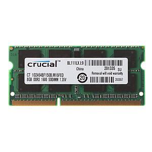 Hình đại diện sản phẩm Ram laptop 8GB PC3L-12800s (DDR3L-1600Mhz)