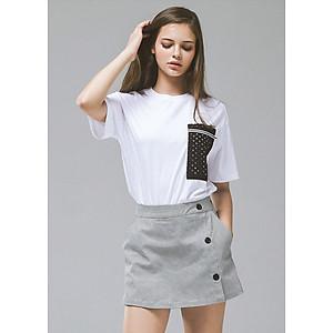Hình đại diện sản phẩm Váy Thường Lime Orange - Aw Skirt - FO18810002-LBK