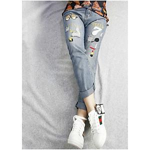 Quần jeans rách trend 7 Mã: QD1267