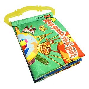 Hình đại diện sản phẩm Sách Vải Pipovietnam Chủ Đề Vòng Quanh Thế Giới Có Quai