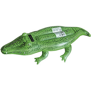 Hình đại diện sản phẩm Combo Phao bơi cá sấu - Tặng kính bơi Match/ Top Junior hoặc Nón bơi trẻ em/ người lớn