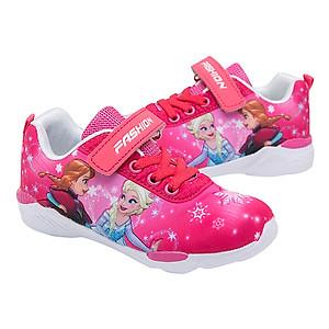 Hình đại diện sản phẩm Giày Thể Thao Bé Gái Hình Elsa And Anna T15 - Hồng (3 - 7 Tuổi)