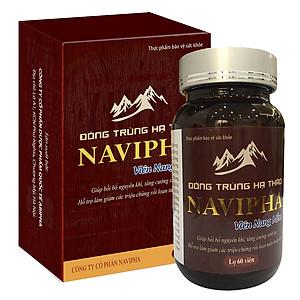 Hình đại diện sản phẩm Thực Phẩm Chức Năng Đông trùng hạ thảo Navipha 60 viên nang mềm