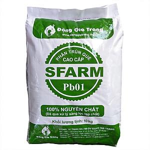Hình đại diện sản phẩm Phân trùn quế truyền thống Sfarm 10kg