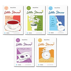 Hình đại diện sản phẩm Combo 5 cuốn: Little Stories - To Help You Relax + Little Stories - To Push You Forward + Little Stories - To Share With Your Friends + Little Stories - To Make You A Good Person + Little Stories - To Have A Nice Day