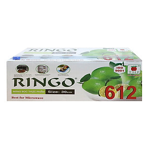 Hình đại diện sản phẩm Màng Bọc Thực Phẩm Ringo ST612SC 8936009561872 (30cm x 500m)